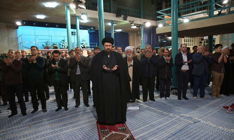 یادگار امام سے تبریز یونیورسٹی کے طالبعلم ایسوسی ایشن کے اراکین کی ملاقات