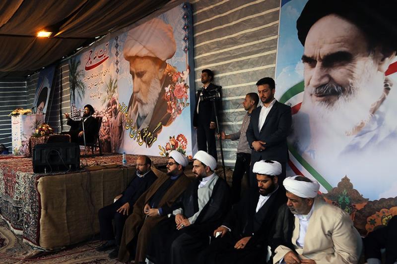 یادگار امام خمینی آغا سید علی خمینی، چند روزہ دورے پر صوبہ خوزستان پہنچ گئے؛ علماء اور عوام کا والہانہ استقبال / ۲۰۱۷ء