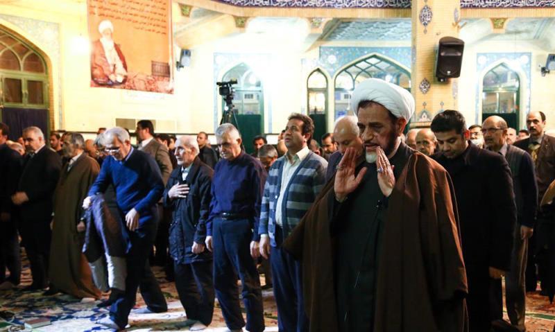 مسجد امیر المومنین (ع) میں یار امام، آیت اللہ رفسنجانی کی رحلت کے چالیسویں دن کی تقریب