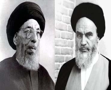 امام خمینی(رح) اور آیت اللہ حکیم(رح)