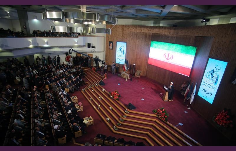 آیت اللہ هاشمی اور آٹھ سالہ مقدس دفاع کانفرنس کا انعقاد؛ تصویری رپورٹ /۲۰۱۷ء