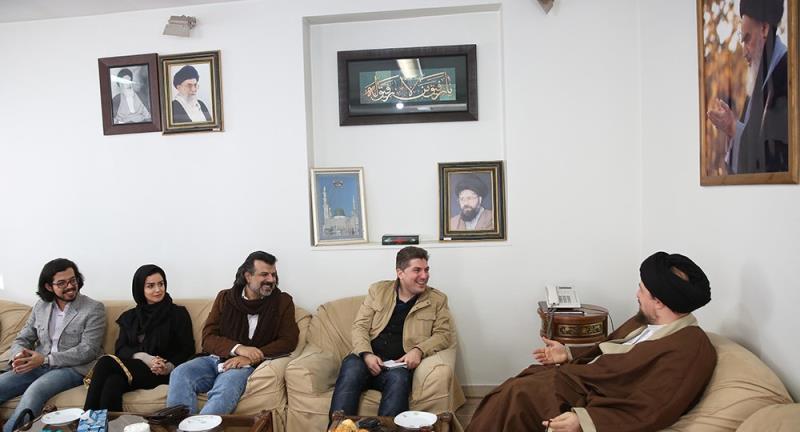 وقائع الاتفاقیہ اخبار کے ایڈیٹرز اسٹاف کی یادگار امام  سے ملاقات