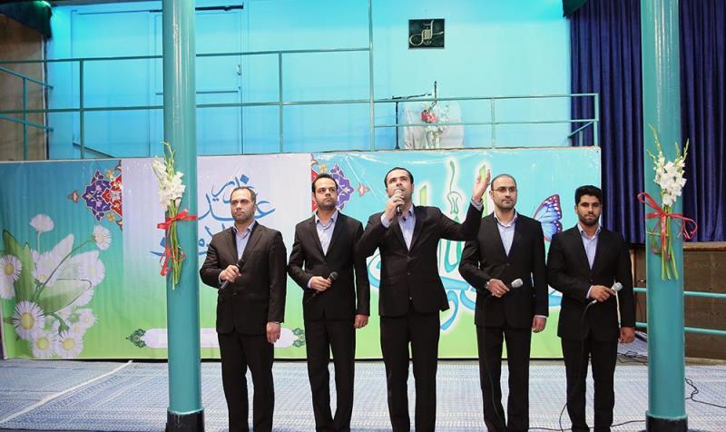 حسینیہ جماران میں عید غدیر کی تقریب کی تصاویر