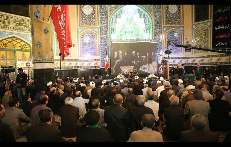 آیت اللہ اشرفی اصفہانی مرحوم کی ۳۵ویں برسی کے موقع پر سید حسن خمینی کی تقریر /۲۰۱۷ء