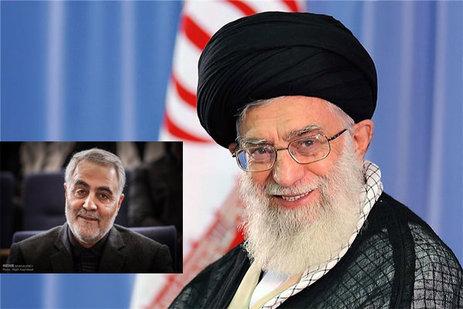 رہبر انقلاب، صدر روحانی اور سید حسن نصراللہ کی جنرل قاسم سلیمانی کو مبارکباد