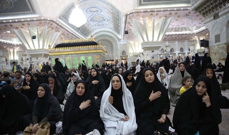 رمضان المبارک کی انیسویں رات، حرم امام خمینی (ره) میں شب احیاء کی تقریب(1)