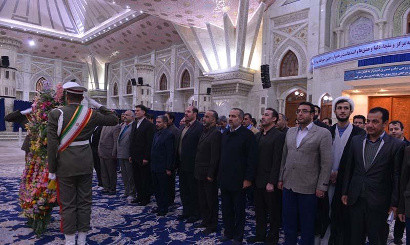 تہران – قم ہائی وے پولیس کےکمانڈرز کی امام خمینی (رح) کی تمناوں سے تجدید عہد