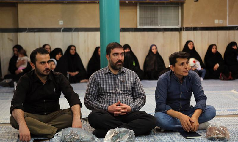 جماران میں فوجی خاندان کے امام خمینی(ره) کے گھر کا دورہ