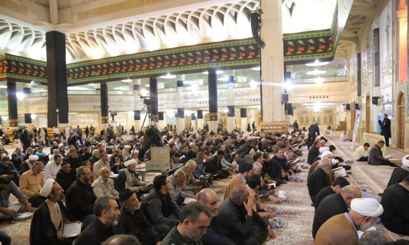 قم میں آیت اللہ شہید سید مصطفی خمینی(رح) کی چالیسویں برسی کی یادگار تقریب