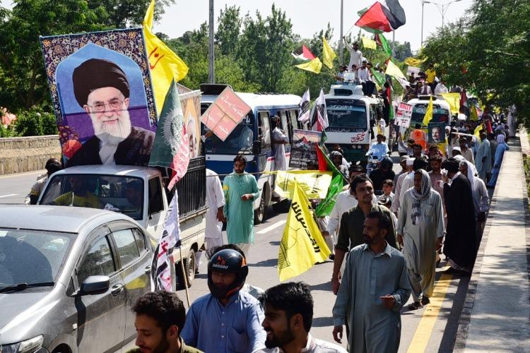 اسلام آباد میں مشترکہ القدس ریلی