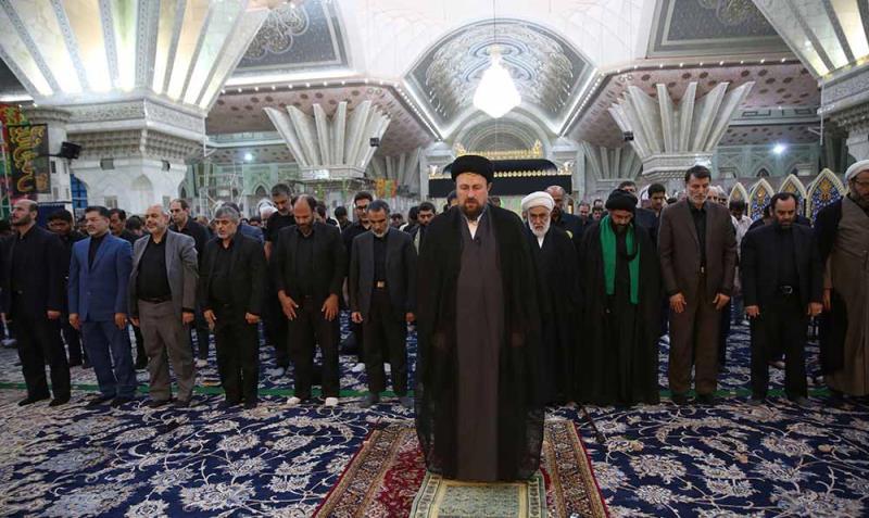 حرم امام خمینی (رح) میں شام غریباں کی مجلس