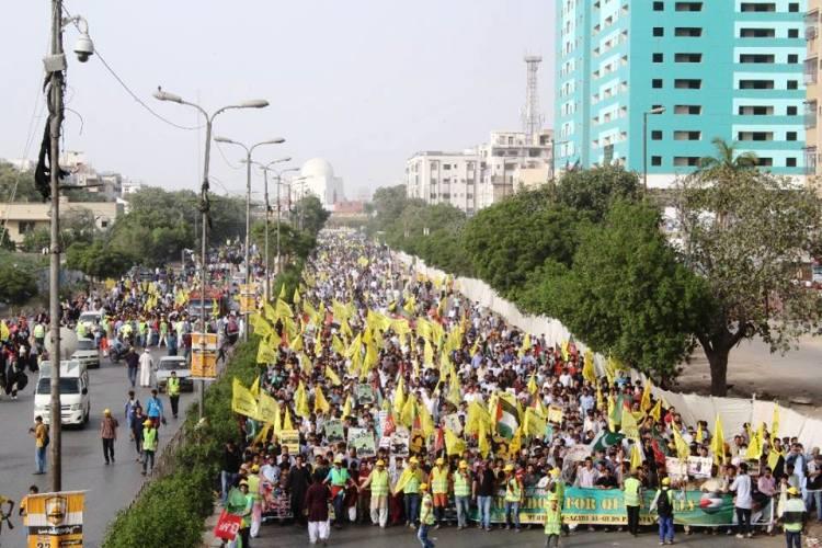 کراچی، آزادی القدس ریلی