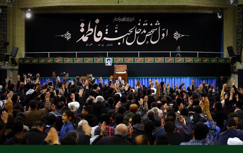 حسینیہ امام خمینی میں حضرت فاطمہ زہراء سلام اللہ علیہا کے یوم شہادت اور عزاداری /۲۰۱۷ء