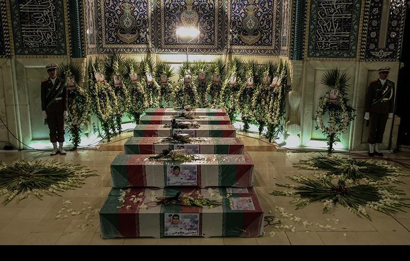پلاسکو عمارت میں شہید ہونے والے ۱۶ فائر فائٹرز شہدا کی تشییع اور نماز جنازہ/۲۰۱۷ء
