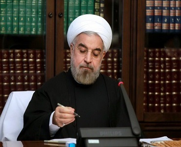ڈاکٹر روحانی کا رہبر معظم انقلاب کے نام خط