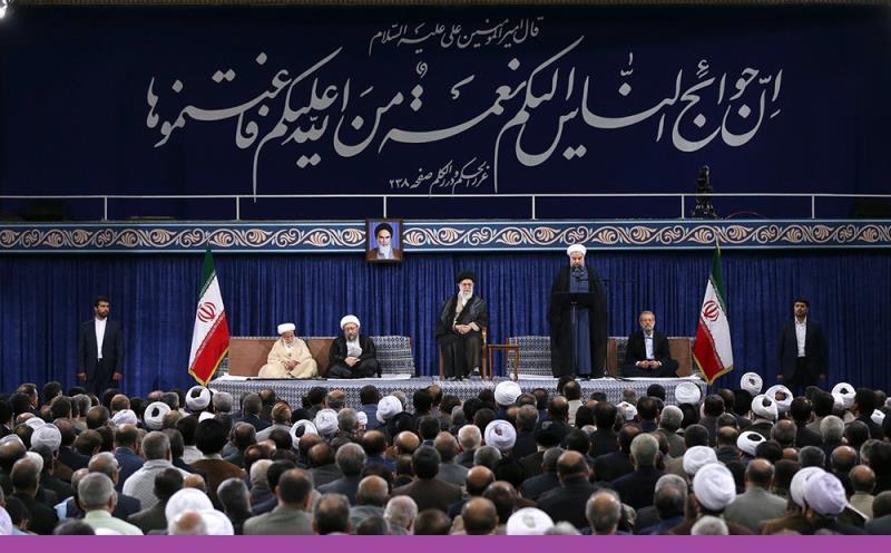 حسینیہ امام خمینی(رح)، رہبر انقلاب اسلامی نے ایرانی قوم کے ووٹوں کی تصدیق اور روحانی کو ۱۲ویں منتخب صدر، مقرر کیا /۲۰۱۷ء