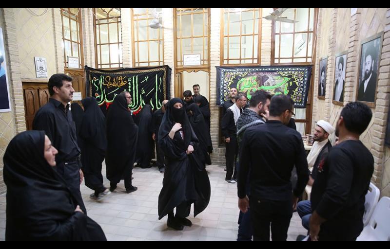 محرم الحرام کے ایام، نجف اشرف میں امام خمینی علیہ الرحمہ کا گھر، تصویری رپورٹ /۲۰۱۷ء