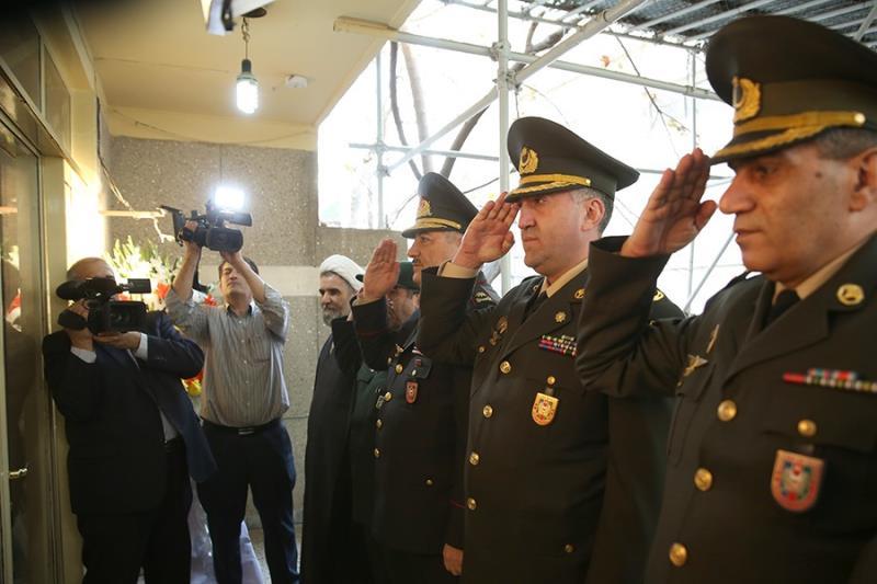 جناب ناطق علی اف، آذربائیجان وزارت دفاع کے میڈیکل ڈیپارٹمنٹ کے سربراہ کا دورہ جماران / ۲۰۱۷ء