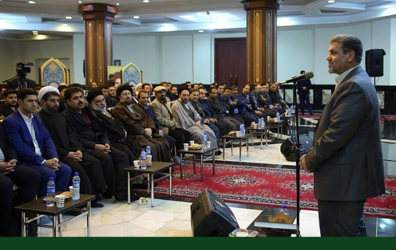 مردم سالاری پارٹی کے سیکرٹری جنرل سمیت اراکین کی سید حسن خمینی سے ملاقات /۲۰۱۷ء