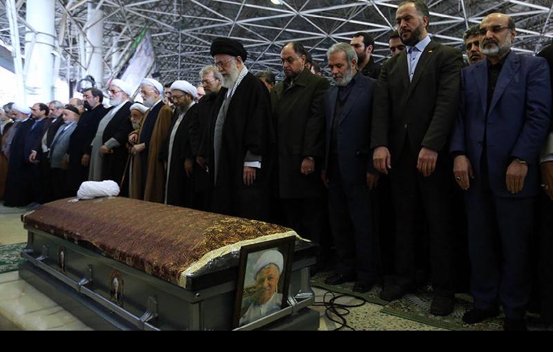 آیت اللہ شیخ علی اکبر ہاشمی رفسنجانی کی تشییع جنازہ اور حرم امام خمینی(رح) میں تدفین (۱)/۲۰۱۷ء