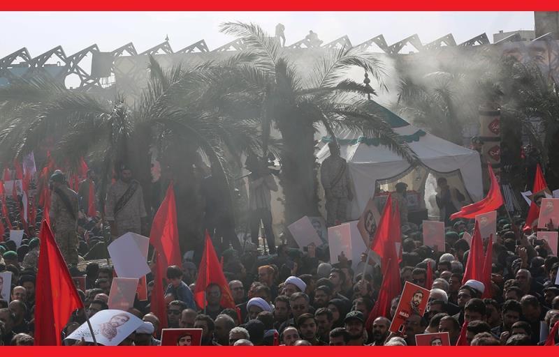 رہبر انقلاب اسلامی آیت اللہ خامنہ ای نے مدافع حرم، شہید محسن حججی کا آخری دیدار کیا اور ایران میں عظیم الشان تشییع جنازہ /۲۰۱۷ء