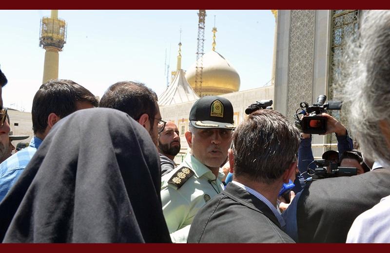 حرم امام خمینی(رح) کے ارد گرد دہشت گرانہ حملے کی تفصیلات کےمتعلق، تصویری رپورٹ /۲۰۱۷ء