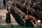 رہبر انقلاب اسلامی کی اسلامی ایران کے دارالحکومہ تہران میں، نماز عید الفطر میں شرکت اور مسلم ممالک کے سفیروں، ملکی عوام اور عہدے داروں سے ملاقات /۲۰۱۷ء
