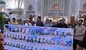 عراق میں اسلامی مزاحمت کے شہداء کے خاندانوں کے ایک گروپ نے امام خمینی (ره) کو خراج تحسین