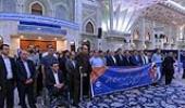 حرم امام (ره) میں، تامین اجتماعی ادارے کے چیف آف اسٹاف اور کارکنوں کی حاضری اور تجدید عہد
