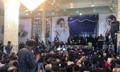 یادگار امام سید علی خمینی کی قزوین، خیارج گاؤں میں منعقد، شہداء کی تجلیل و تعظیم تقریب میں شرکت /۲۰۱۷ء