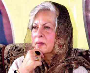 محترمہ عابدہ حسین