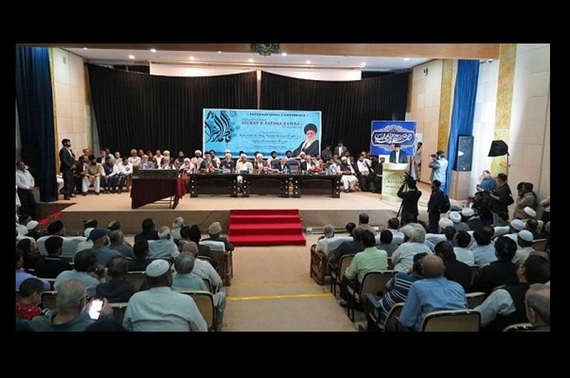 اتحاد امت عالمی کانفرنس، حیدر آباد انڈیا میں، مجمع جہانی تقریب بین المذاہب کے سربراہ کی شرکت/۲۰۱۷ء