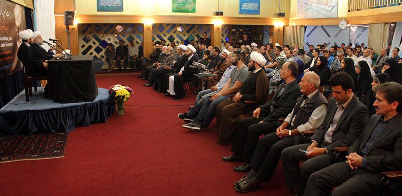 ہامبورگ اسلامک سینٹر میں امام خمینی (رح) کی انتیسویں برسی کی تقریب /2018