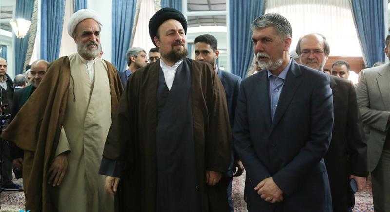 دہہ فجر کے موقع پر؛ کلچر اور آرٹس کے سرگرم لوگوں کی یادگار امام سید حسن خمینی سے ملاقات
