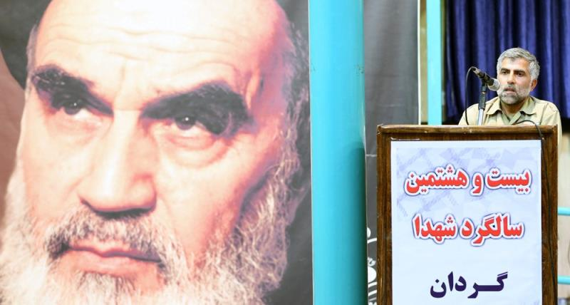 حسینیہ جماران میں علی اکبر ڈویژن کے شہداء کی برسی کا انعقاد