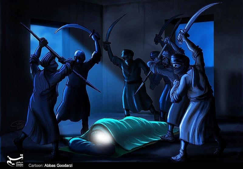 امام علی (ع) نے مشرکین کے قبیلوں کی تلواروں کی پرواہ نہیں کی