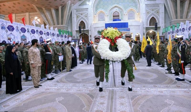 تہران میونسپلٹی کے رضاکارانہ فوج کی حرم امام خمینی(رح) میں حاضری اور ان کی تمناؤں سے تجدید عہد /2018