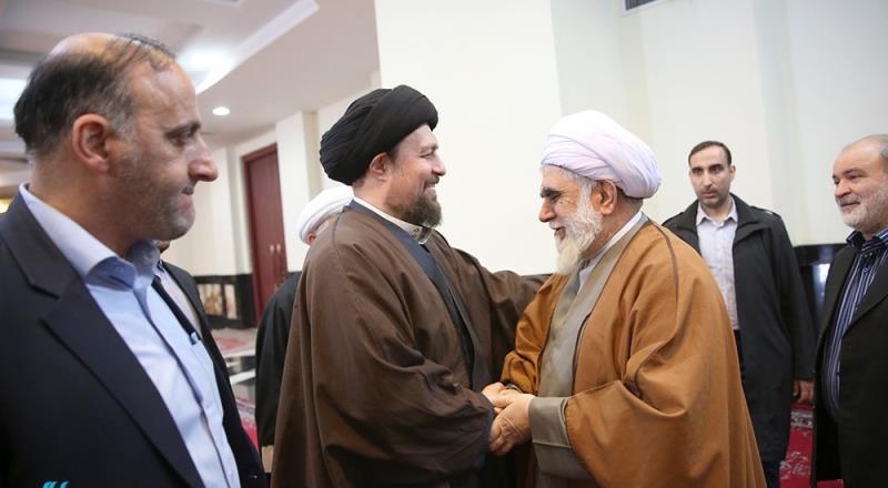 عالمی اہل بیت (ع) اسمبلی کے سیکرٹری جنرل اور کارکنوں کی یادگار امام سے ملاقات