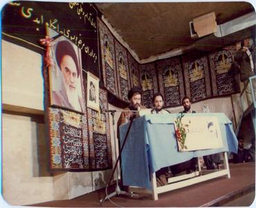 امام خمینی (رح) کے ہمراہ حاج احمد کا کردار