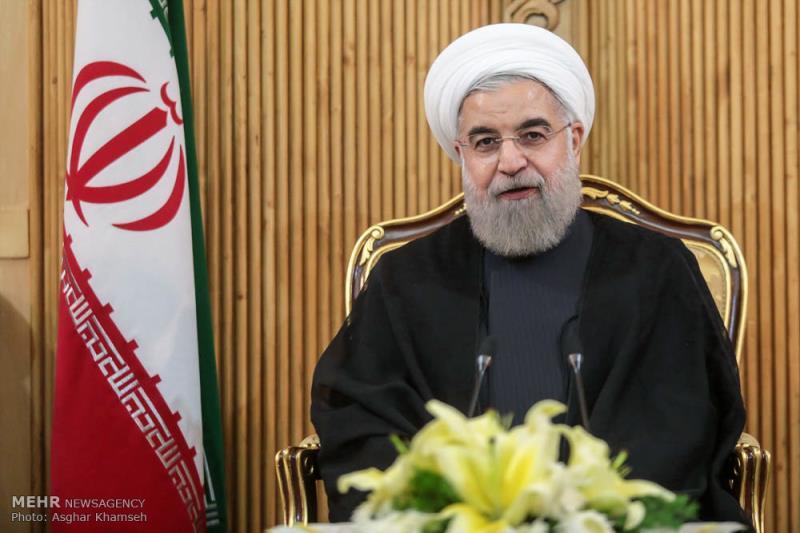ایران کسی بھی صورت میں استعماری طاقتوں کے سامنے سرنہیں جھکائے گا:ایرانی صدر