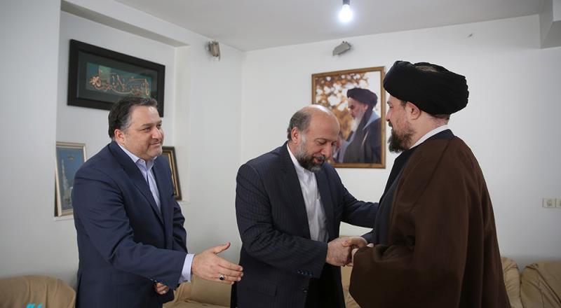 چھتیسویں فجر فلم فیسٹیول کے افتتاحی موقع پر ؛ محمد مہدی حیدریان؛ سنیما ادارہ کے سربراہ کی یادگار امام سے ملاقات