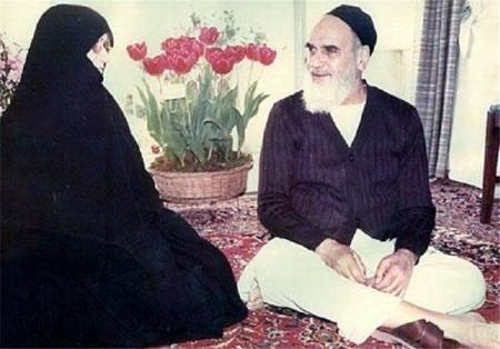 امام خمینی(رح) کے گھر میں  مہمان نوازی