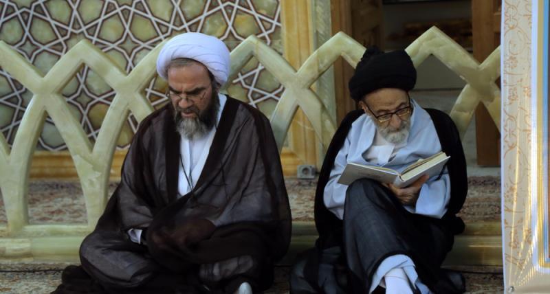 رہبر انقلاب اسلامی کی طرف سے حرم حضرت معصومہ (س) قم میں امام خمینی (رح) کی برسی کی تقریب /2018