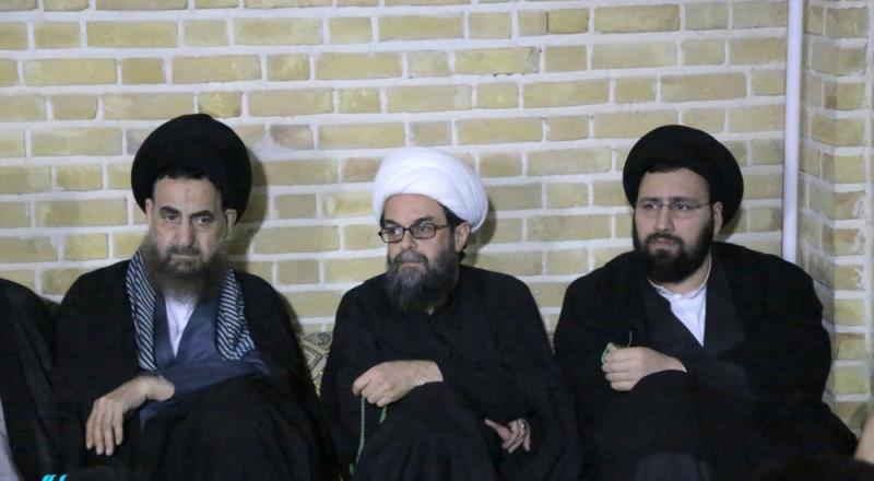 قم؛ امام خمینی (رح) کے تاریخی گھر میں سید علی خمینی کی موجودگی میں شہادت حضرت زہرا (س) کی تقریب