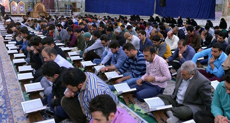 حرم امام خمینی(رح) میں محفل انس با قرآن/2018