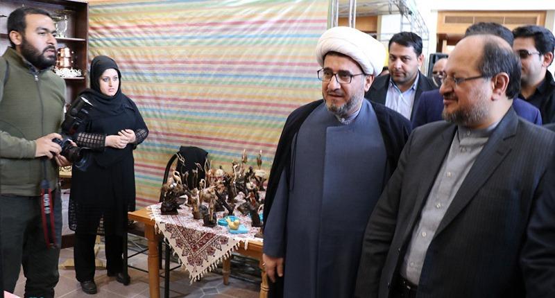 خمین؛ دہہ فجر کے موقع پر، امام خمینی (رح) کی پیدائش کی جگہ اور تاریخی گھر میں منعقدہ تقریبات