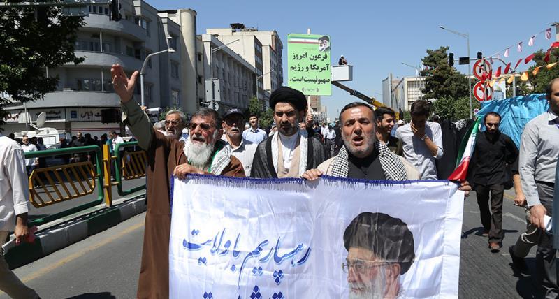 ایران میں یوم القدس کی تصویری جھلکیاں-2