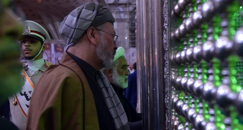 افغانستان کے ہائی امن کونسل کے سربراہ کی حرم امام خمینی (رح) میں حاضری اور خراج تحسین /2018