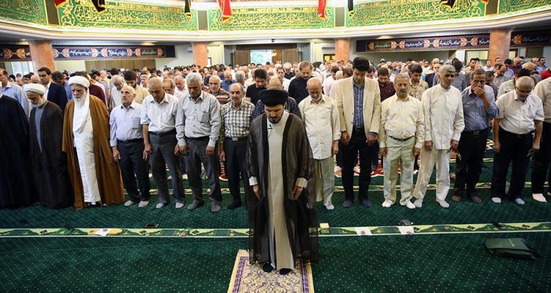 جماران میں عید فطر کی نماز