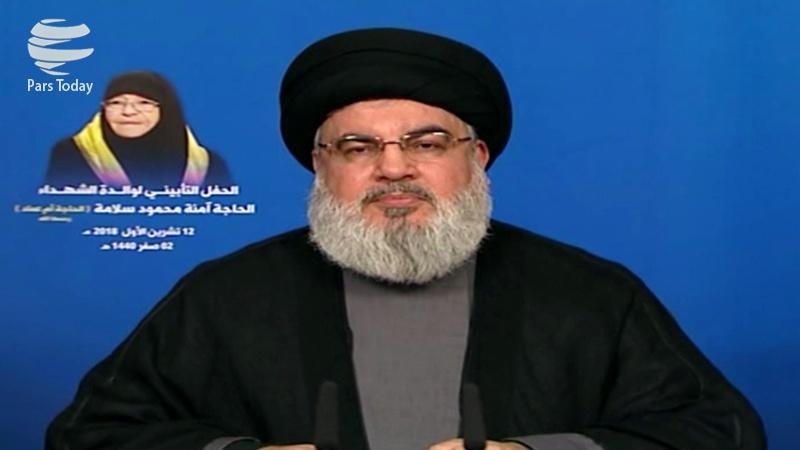 ٹرمپ بھی ایران کی طاقت اور قدرت سے خوفزدہ ہے: سید حسن نصراللہ